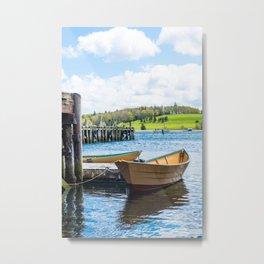 Lunenburg Harbor Metal Print