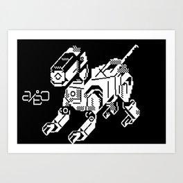 Aibo Art Print