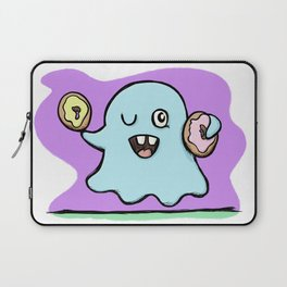 Is That More Food? The Elusive Donut Ghost. Laptop Sleeve