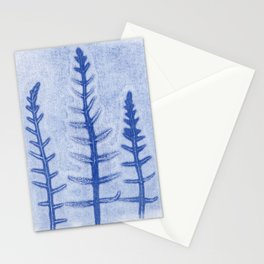 Wintery Trees Stationery Cards