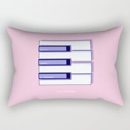 E is for Ella Fitzgerald Rectangular Pillow