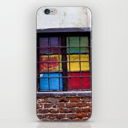 Window of Many Colors iPhone Skin