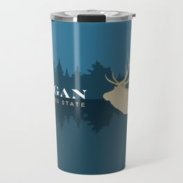 Michigan - Redesigning The States Series Travel Mug
