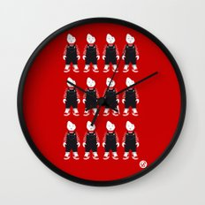 CHILD'S PLAY - RED COLLECTION Wall Clock