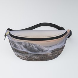 Waves on the rocks at the Backshore Fanny Pack