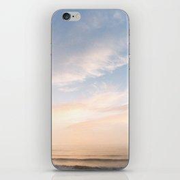Waves at Sunset off the Oregon Coast iPhone Skin