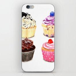 Cupcake selection iPhone Skin