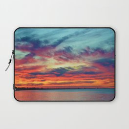 Sunset on Lake St. Clair in Belle River, Ontario Laptop Sleeve