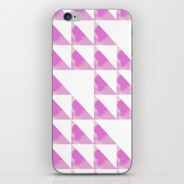 Pinky Winky Triangles iPhone Skin