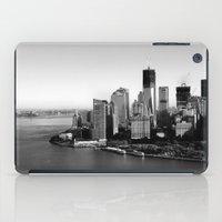 manhattan iPad Cases featuring Manhattan  by Zakvdboom Designs