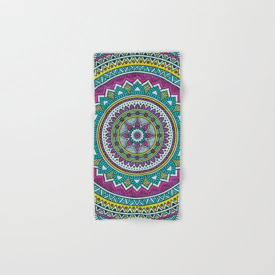 Hippie mandala 31 Hand & Bath Towel