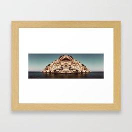Ahh, Greece Framed Art Print