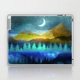 Silent Forest Night Laptop & iPad Skin