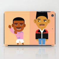 fresh prince iPad Cases featuring The Fresh Prince by Evan Gaskin