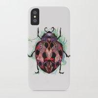 ladybug iPhone & iPod Cases featuring Ladybug by SilviaGancheva