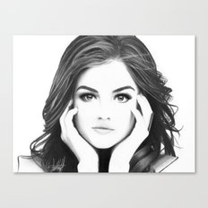 Lucy Canvas Print