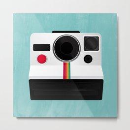 Polaroid Land Camera Metal Print