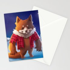 Little Werewolf Stationery Cards