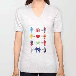 Super Math Unisex V-Neck