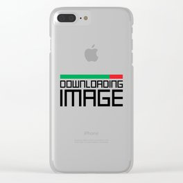 Downloading Image Clear iPhone Case