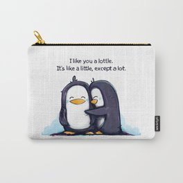 Lottle Penguins Carry-All Pouch