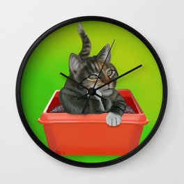 Thinking Spot Wall Clock
