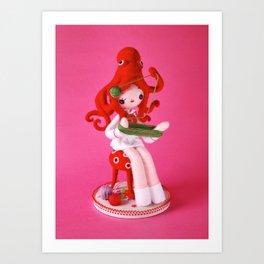 Onto-Girl Art Print