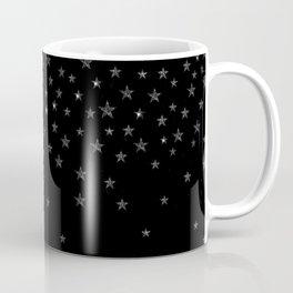 Black Stars Coffee Mug