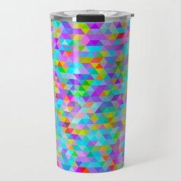 Coloured Triangles : Mini #2 Travel Mug