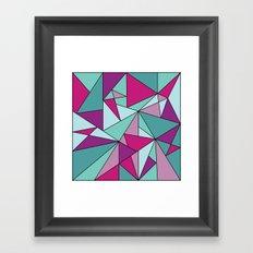 Purpinklue Framed Art Print