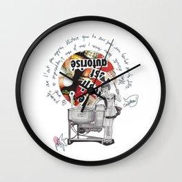 Alors, écoute bien Wall Clock