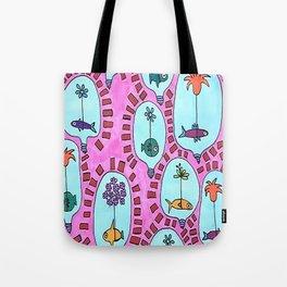 Fish Lamp-Bowl Tote Bag
