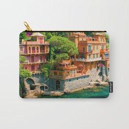 Italy. Portofino Carry-All Pouch