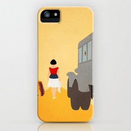 Kidnapping Caucasian Style iPhone Case