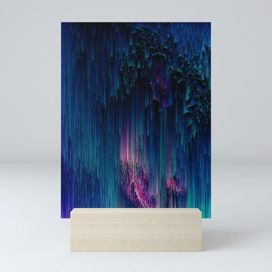 Glitchy Night - Abstract Pixel Art by jenniferbradford