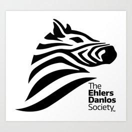 Ehlers-Danlos Society - Big Logo Art Print