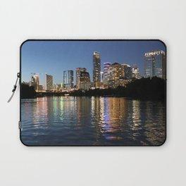 Austin, Texas skyline - city lights Laptop Sleeve