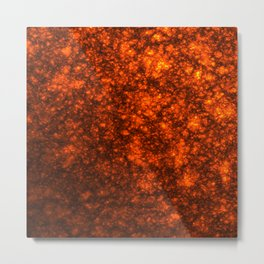 Molten Lava Metal Print