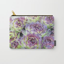 Purple Cactus Pedals Carry-All Pouch