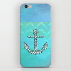 Tribal Anchor iPhone & iPod Skin
