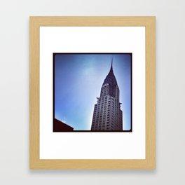 Chrystal Building #2 Framed Art Print