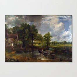 John Constable - The Hay Wain Canvas Print