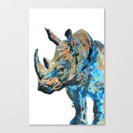 Rhino! Canvas Print