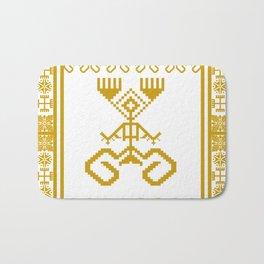 old symbols Bath Mat