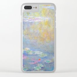 Monet water lilies 1908 Clear iPhone Case