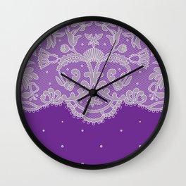 Crocheted / Craft V Wall Clock