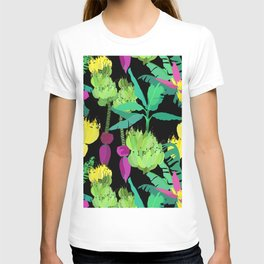 Banana Bunches in Black T-shirt