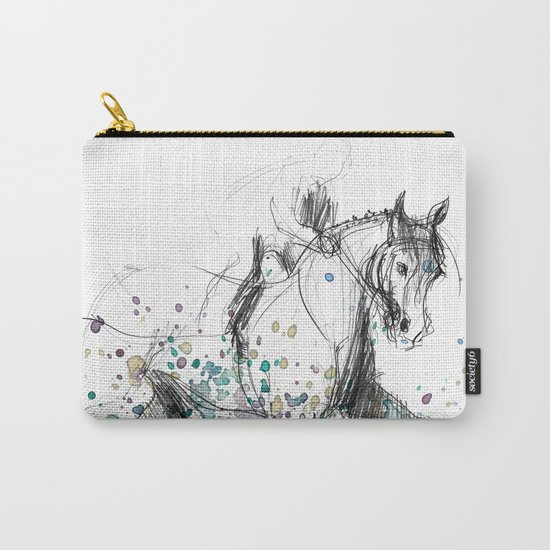 Horse (Rainy canter) Carry-All Pouch