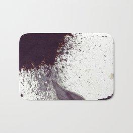 splattering on dry ground  Bath Mat