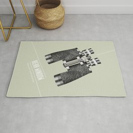 Rear Window - Alternative Movie Poster Rug